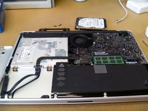 MacBookPro 内部