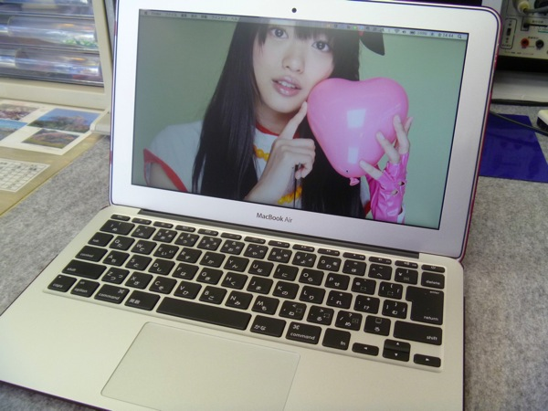 MacBookAirを導入!