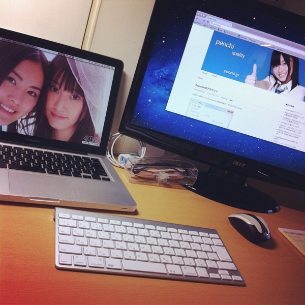 MacBookPro環境は試行錯誤中