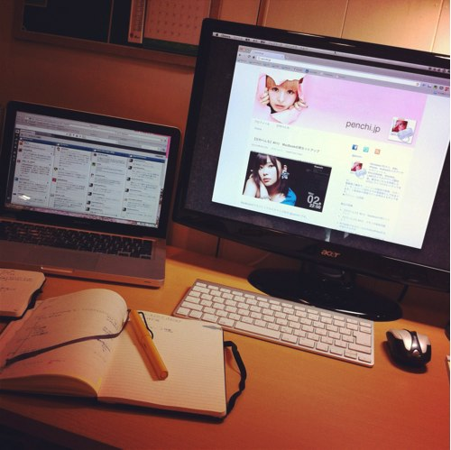【日刊ぺんち】#014 MacBookProでデュアルモニター