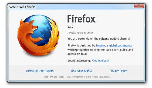 Firefox13
