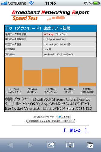 iPhone高速化