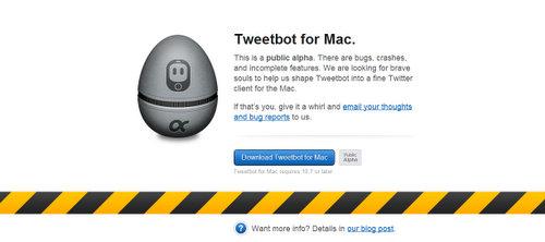 iPhoneでお馴染みのTweetbot のMac版がきた!
