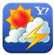 iPhoneアプリ Yahoo!天気・災害 が便利です