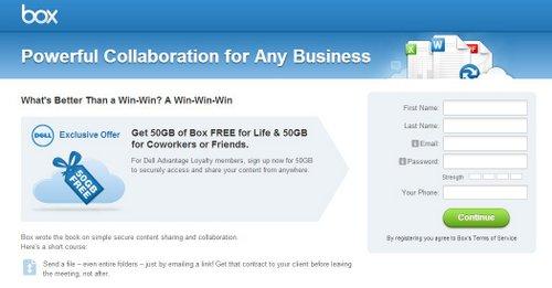 50GBのオンラインストレージが無料で使えるチャンス!