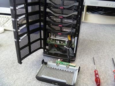 HP EX490 に、VGAポートをつける