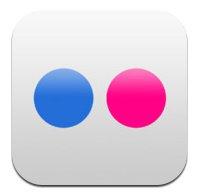 Flickrの公式iPhoneアプリをインストイールしてみた