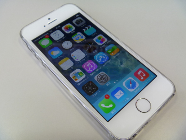 買わないといいつつ・・・ iPhone5s ゲット!