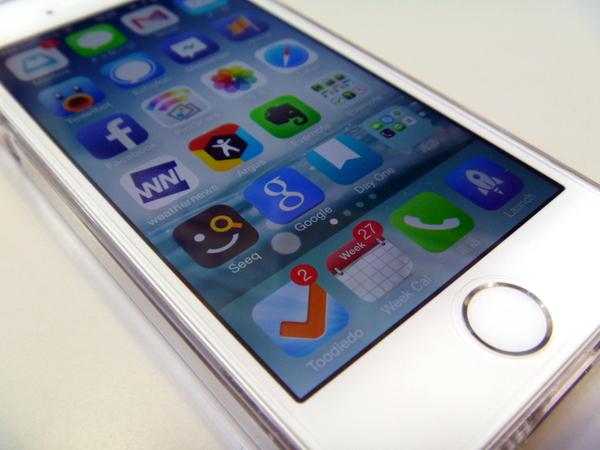 iPhone5s ホーム画面晒し 2013年10月 ランチャ編