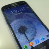 GALAXY S III、久々の電源ON
