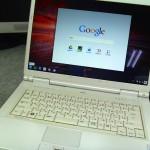 Chrome OSを普通のノートパソコンにインストールしてみた