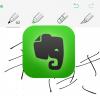 iPhone版 Evernoteアプリに手書き機能がついた!