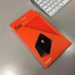 Amazon Fireタブレットに純正カバーをつけてみた
